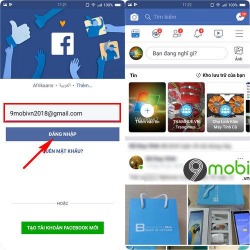 cach tai facebook cho bphone 3 5