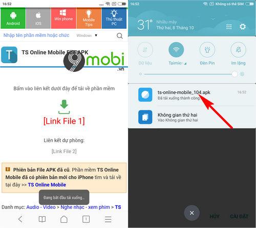 cach tai va choi ts online mobile 3
