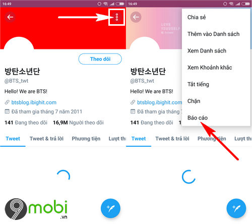 cach bao cao tai khoan twitter gia mao tren dien thoai fake twitter accounts 3