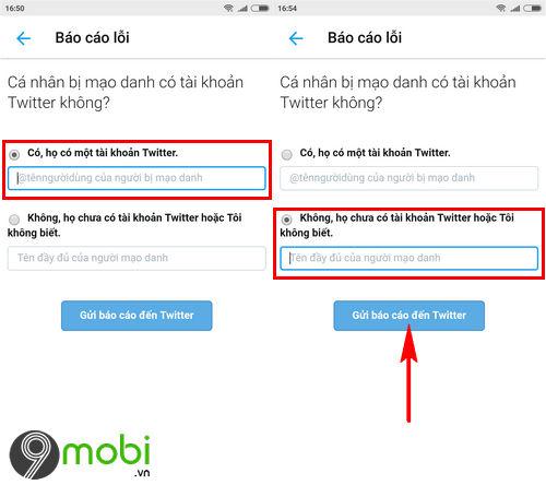 cach bao cao tai khoan twitter gia mao tren dien thoai fake twitter accounts 5