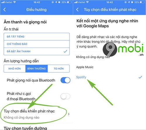 cach cai spotify tren google maps 3