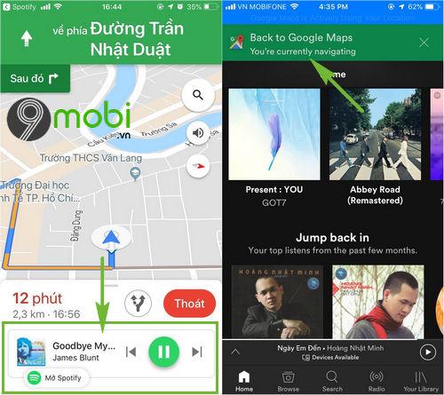 cach cai spotify tren google maps 4