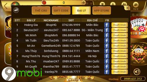 cach nap tien than thai club tren dien thoai 7