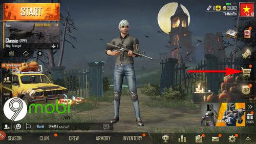 doi ten nhan vat game pubg mobile tren dien thoai 3