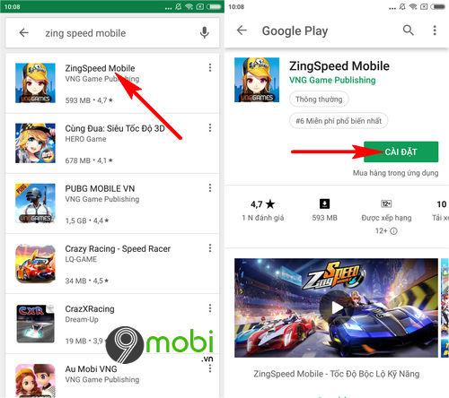 tai va choi game zing speed mobile 3