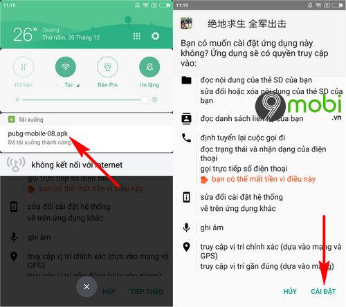huong dan tai va cai dat pubg mobile trung quoc tren android va iphone 8
