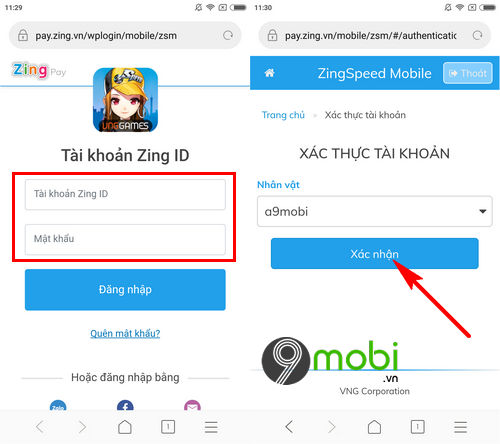 cach nap the kim cuong cho game zing speed mobile 4