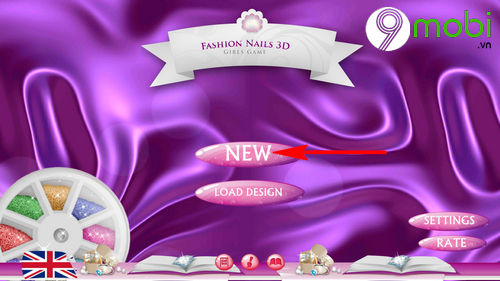 hoc lam mong voi ung dung fashion nails 3d girls game 3