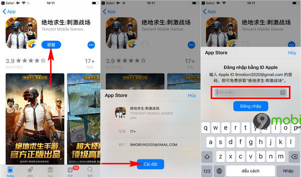 cach tai pubg mobile cho iphone ipad 3