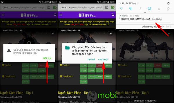 cach tai video tu web xem phim bang coc coc tren dien thoai android iphone 4