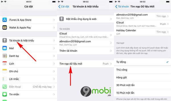 cach chuyen danh ba tu android sang iphone bang gmail 7