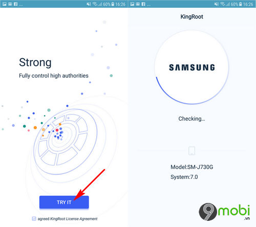 cach root android khong can may tinh voi kingroot 5