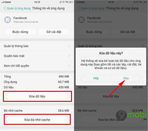 oppo khong vao duoc facebook messenger 3