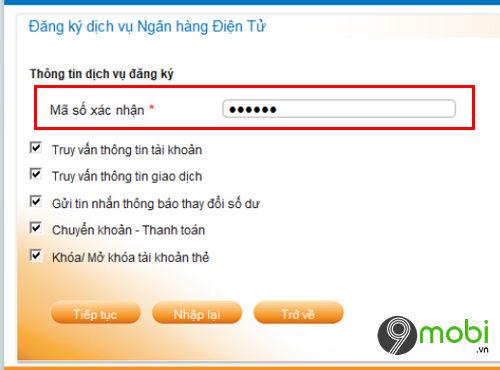 cach dang ky internet banking donga bank tren dien thoai 6