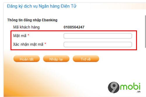 cach dang ky internet banking donga bank tren dien thoai 7