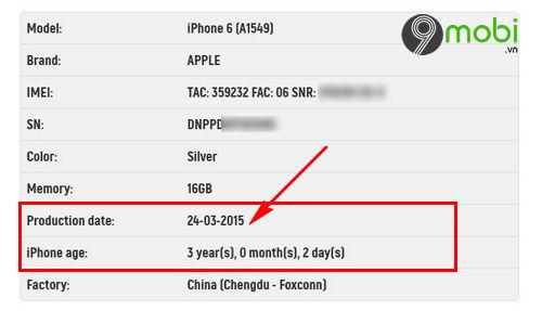 cach kiem tra ngay active iphone troi bao hanh 5