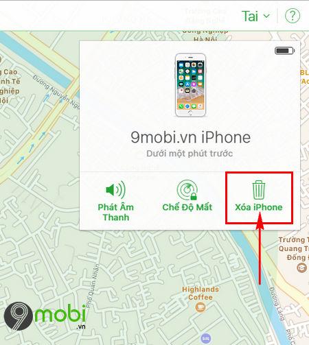 cach xoa du lieu tu xa khi mat dien thoai android iphone 6