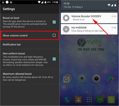 Ứng Dụng Tăng 226 M Lượng Loa Cho điện Thoại Android