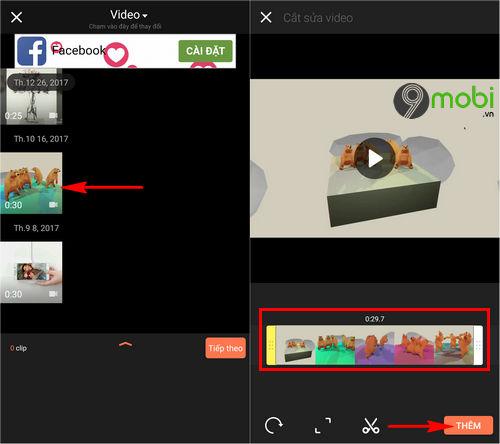 Cách sử dụng VivaVideo trên điện thoại, quay, chỉnh sửa video