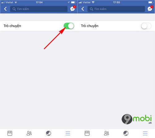 cach an nick facebook tren iphone 4