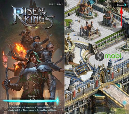 cach choi rise of the kings tren dien thoai 3