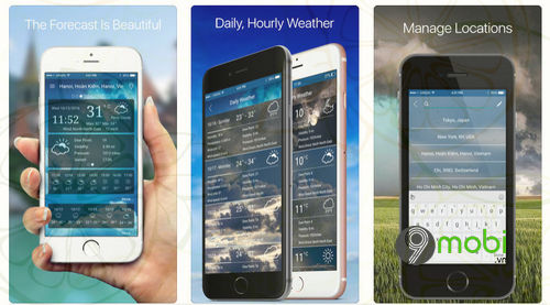 weather forecast ung dung du bao thoi tiet cho android iphone
