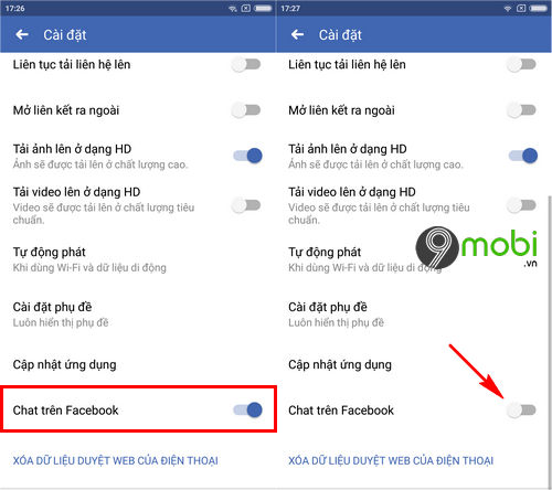 cach an nick facebook tren dien thoai android 3
