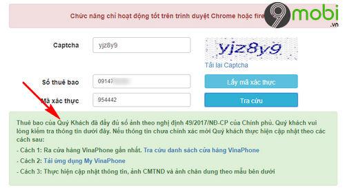 link tra cuu thong tin thue bao sim viettel vina mobi 5