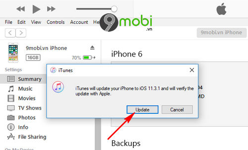 cach cap nhat ios 11 3 1 cho iphone ipad 9