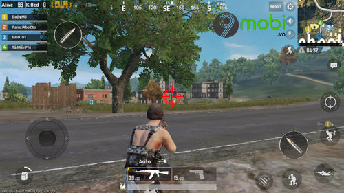 cach su dung ung dung doi tam ngam game pubg mobile 10