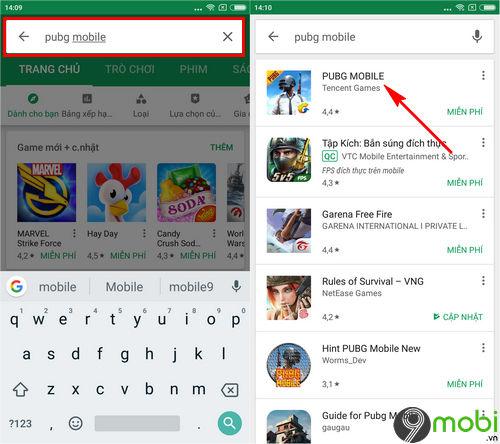 cach cai pubg mobile tren google play 3