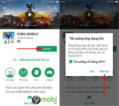 cach cai pubg mobile tren google play 4