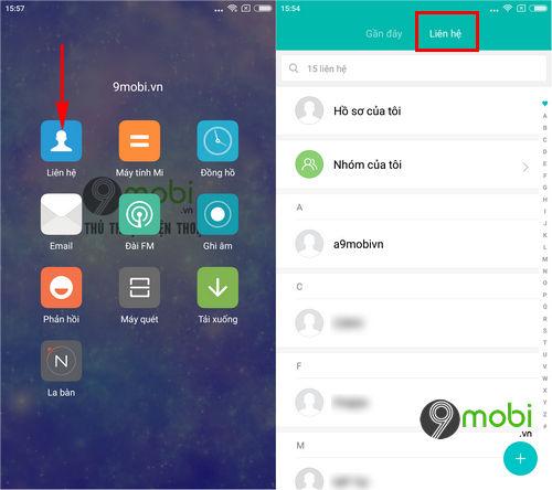huong dan lay danh ba tu gmail tren may android 4