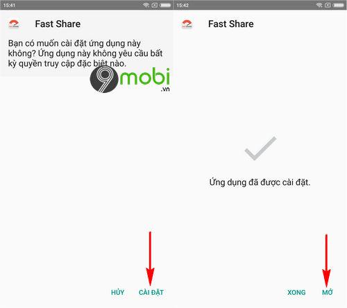 Cách chuyển tiền Mobifone bằng App Fastshare