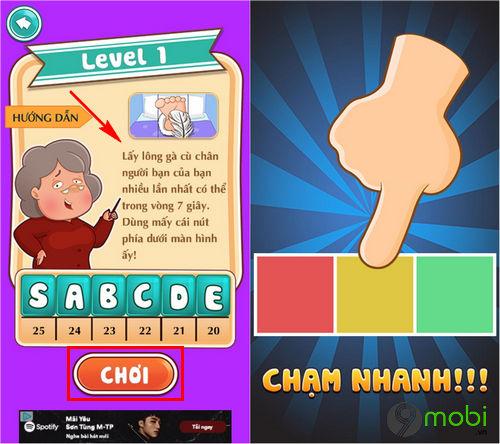 cach choi dai thu thach tren dien thoai android iphone 3