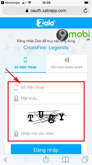 cach nap the crossfire legends bang the dien thoai nap gem cf mobile 3