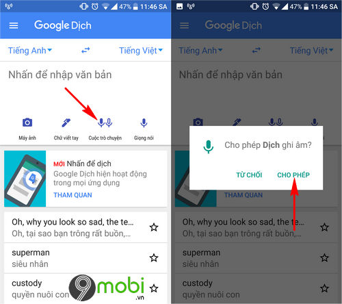 cach su dung google dich tren android va iphone 7