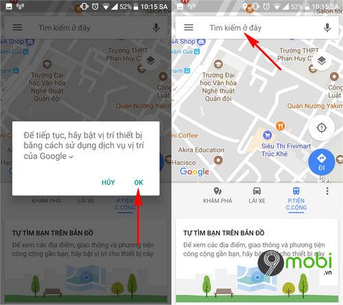 huong dan bat dan duong bang giong noi tren google maps 4