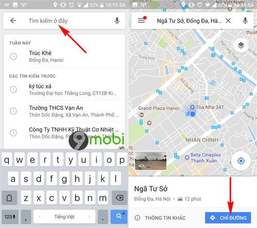 huong dan bat dan duong bang giong noi tren google maps 5