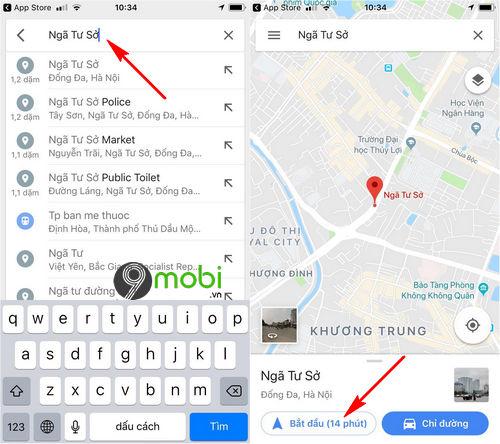 huong dan bat dan duong bang giong noi tren google maps 8