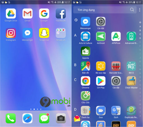 cach cai giao dien iphone cho dien thoai android 6