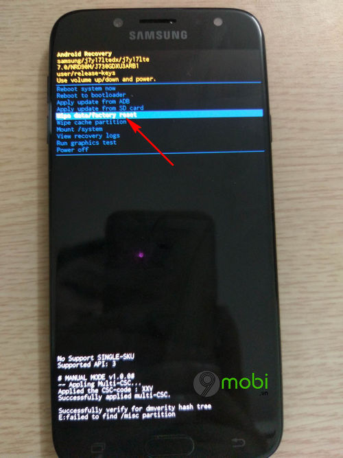huong dan cach reset dien thoai android 6