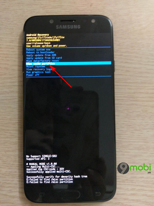 huong dan cach reset dien thoai android 8