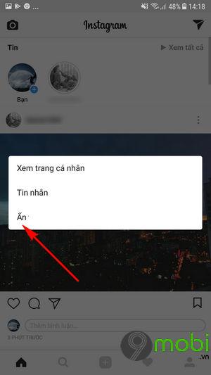 lam the nao de an bai dang cua nguoi khac tren instagram 3