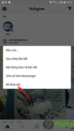 lam the nao de an bai dang cua nguoi khac tren instagram 6