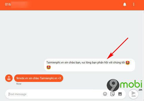 cach gui tin nhan sms tu may tinh sang so dien thoai bang android messages 10