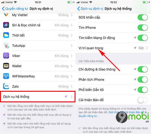 tat tinh nang thu thap du lieu nguoi dung tren iphone 3
