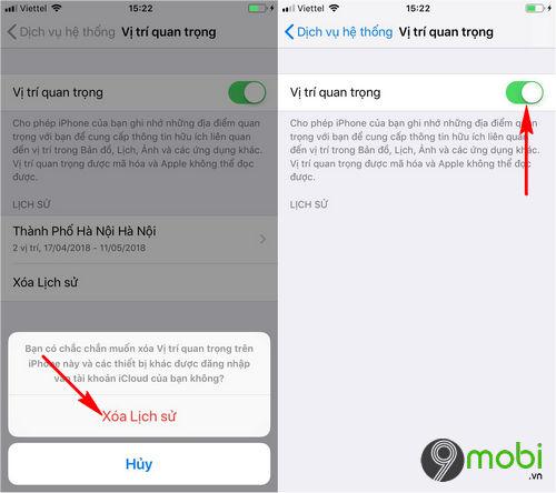 tat tinh nang thu thap du lieu nguoi dung tren iphone 5