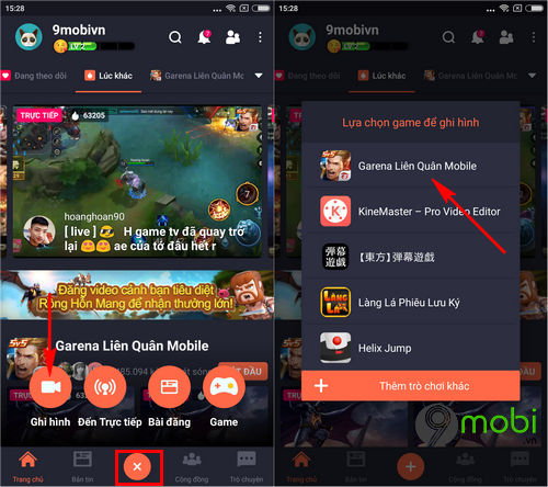 huong dan quay video lien quan mobile tren dien thoai iphone android 11