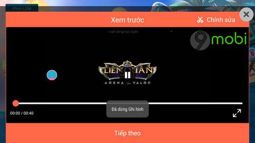huong dan quay video lien quan mobile tren dien thoai iphone android 16